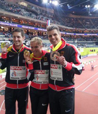 3. Platz Hallen-Europameisterschaften 60m